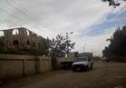 غلق الطريق الصحراوي بسبب الشبورة المائية في المنيا