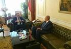 وزير قطاع الأعمال العام يلتقي محافظ البحر الأحمر لبحث التعاون المشترك