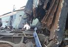 الصحة: إصابة 3 مواطنين في حادث تصادم قطار بونش بالقليوبية