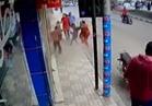 فيديو| انفجار مروع بأحد مطاعم القاهرة