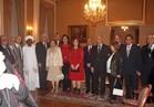 منظمة المرأة العربية تحتفل بالسفير الفلسطيني السابق