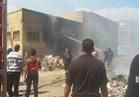 حريق يلتهم مخزن للدراجات البخارية  بأبو حمص بالبحيرة