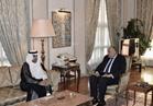 رئيس البرلمان العربي يلقي سامح شكري للتنسيق بين الموقف الشعبي والرسمي