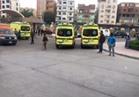توافد العشرات من أهالي مصابي مسجد الروضة على مستشفى جامعة قناة السويس