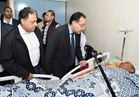 راضي يرافق مدبولي في دار الشفاء للاطمئنان على مصابي حادث مسجد الروضة