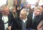 محافظ شمال سيناء يزور مصابين حادث مسجد الروضة بالإسماعيلة