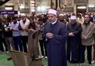 شاهد  صلاة الغائب بمسجد الفتح على أرواح شهداء حادث الروضة