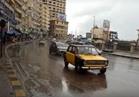 فيديو  ارتباك مروري في الإسكندرية بسبب الأمطار الغزيرة
