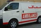 مصرع 8  عمال  واصابة  اثنين اخرين في حادث سير بطريق الوسط