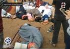 شاهد| تمثيل «مجزرة الروضة» داخل مدرسة بالدقهلية