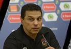 حسام البدري يشيد بأداء أيمن أشرف أمام المصري