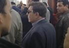 سمير صبري يودع شادية بمسجد السيدة نفيسة