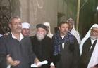 راعى كنيسة يلقى كلمة الاحتفال بالمولد النبوي الشريف بأحد قرى المنيا