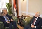 الشرقاوي  يبحث التعاون المشترك مع  سفير بيلاروسيا في القاهرة