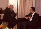 وزير الخارجية يلتقي نظيره المجري على هامش القمة الأفريقية الأوروبية