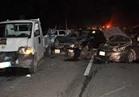 وفاة 3 أشخاص وإصابة 11 في تصادم بالطريق الدائري