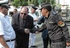صور| جولة لمساعد الوزير لقطاع أمن الجيزة على قوات الأمن