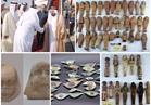 بالصور| 354 قطعة أثرية هدية من حاكم الشارقة للمصريين
