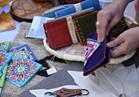«التضامن» تنظم معرضًا للحرف اليدوية التراثية بمنتدى شباب العالم  صور