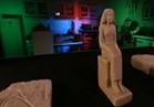 بالفيديو.. شاهد القطع الأثرية التي استردها حاكم الشارقة وأهداها لمصر