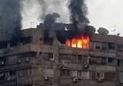إخماد حريق داخل شقة بـ 6أكتوبر
