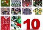"""شاهد.. أسوء """"10 قمصان"""" في تاريخ كرة القدم"""