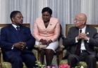 رئيس الوزراء يبحث مع نظيره الاستوائي تعزيز علاقات التعاون بين البلدين