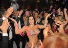صور| آلا كوشنير ترقص بحفل زفاف «فؤاد ودينا»