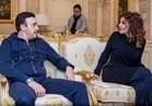 بالصور| صابر الرباعي ولقاء خاص مع الديفا سميرة سعيد بالكويت