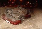 سقوط سيارة بترعة بورسعيد ومصرع قائدها