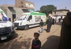 علاج 1500 مواطن بالمجان وتوزيع 3 أطنان لحوم في قوافل «علشان تبنيها» بقنا |صور