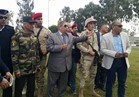 قائد الجيش الثاني ومحافظ الإسماعيلية يتفقدان الكباري والمحاور المرورية الجديدة
