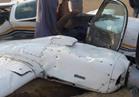 بالصور| مصرع 3 أفراد إثر سقوط طائرة تدريب شمال بحيرة قارون