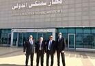 لجنة جمركية تتفقد صالات مطار سفنكس قبل افتتاحه