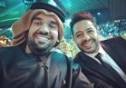 الجسمي وحماقي في حفل تأهل السعودية لـ«المونديال»