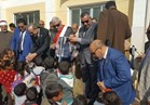 توزيع 623حقيبة مدرسية على طلاب مدارس أبورديس