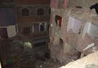 بالفيديو..ننفرد بنشر لحظة انهيار عقار حدائق القبة