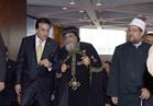 وزير الأوقاف ينشد الشعر في احتفالية جامعة الإسكندرية باليوبيل الماسي