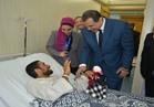 """وزير القوى العاملة يزور مصابي الإرهاب بـ""""الروضة"""" في معهد ناصر"""