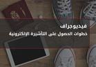 فيديوجراف| خطوات الحصول على التأشيرة الإلكترونية