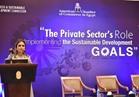 وزيرة الاسثمار: نعمل على تحقيق اهداف التنمية بالتعاون مع القطاع الخاص والمجتمع