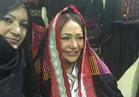 صور.. ليلى علوي بإطلالة بدوية: »كلنا سيناء«