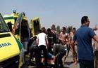 إصابة 40 في انقلاب أتوبيس بطريق السويس