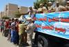 القوات المسلحة توزع 75 ألف كرتونة مواد غذائية على المحتاجين بأسوان