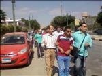 بالصور: مسيرة لأصحاب العصا البيضاء للمطالبة بحوقهم المشروعة