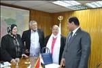 وزيرة التضامن السابقة تتبرع بأرض لإنشاء مدرسة بالغربية