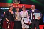 صور | تكريم لبنى عبدالعزيز وإلهام شاهين ومنة شلبي بختام المهرجان القومي للسينما