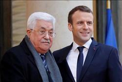 ماكرون وعباس يبحثان بباريس القرار الأمريكي بشأن القدس