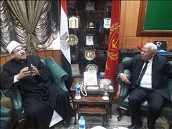 وزير الأوقاف يشارك في احتفالات بورسعيد بعيدها القومي