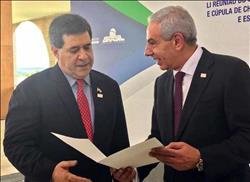وزير الصناعة يسلم 3 رسائل من «السيسي» لرؤساء دول الأرجنتين وأوراجواي وبارجواي